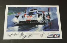 Nicholas Watts - LEMANS 2014 -- Victory For Audi - GICLEE PRINT - Color Remarque