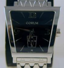 CORUM TRAPEZE STAINLESS STEEL QUARTZ WATCH