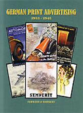 GERMAN PRINT ADVERTISING 1933-1945 RAY COWDERY