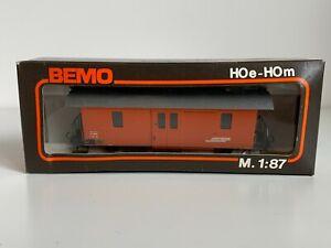Bemo 2265 191 RhB Rhaetian Swiss Tool Car (Freight Car) HOe HOm Scale