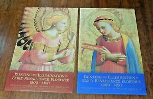 "Set of 2 ~ 24"" x 37"" Fra Angelico Metro Museum of Art Exhibit 1994-95 posters"