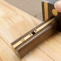 Marking Mortise Gauge Carpentry Scribe Ebony Copper Tools Scraper Work US L0P4