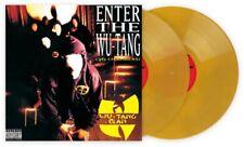 ENTER THE WU-TANG (36 CHAMBERS) Gold Galaxy 2LP Vinyl Me Please +ART PRINT! Clan