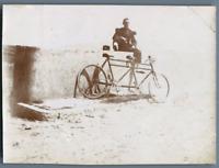 Tunisie, Sur le Pont d'Hammam Lif. Une partie de tandem  Vintage citrate pr