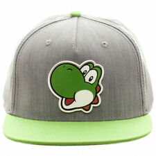 Oficial Nintendo-Super Mario Bro's - Goma Mario Parche Gris Snapback Cap