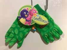 NWT Nick Jr The Backyardigans Pablo Strong Midwest Gloves - Garden - Green - New