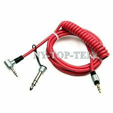 Replacement Stereo Audio Cable Cord for Beats by dr Dre PRO DETOX Headphones