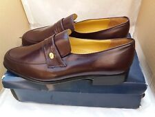 MEN'S ROMBAH WALLACE BROWN LEATHER SHOES UK SIZE 10 NEW WITH BOX RRP £65