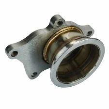 "Stainless Steel Adapter for T3/T4 Turbo 5 Bolt to 3"" V-Band Flange Turbo Adaptor"