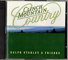 RALPH STANLEY & FRIENDS clinch mountain country 2CD 1997 Rebel Rec. Bluegrass