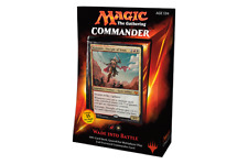 Magic MTG Commander 2015 Wade Into Battle NEW SEALED