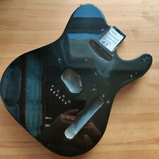 More details for b-stock guitar body basswood tele telecaster style black gloss 44mm deep #3