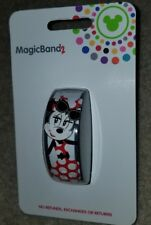 NEW Disney Parks Minnie Mouse Dot Its All About The Bow Magic Band 2 LINKABLE