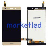 DISPLAY LCD + TOUCH SCREEN VETRO VETRINO HUAWEI P8 LITE GOLD RICAMBIO