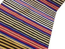 "Om Vintage Indian 100% Cotton Thread Woven Multicolor Carpet Size- 77"" / 41"" C20"