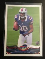 2013 Topps #281B ROBERT WOODS Buffalo Bills ROOKIE RC SP Variation Rare !