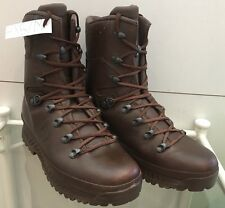 Haix Brown MTP Gore-Tex Waterproof Army Issue Wet Weather Hiking Boot 7M HX57M