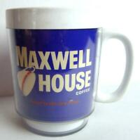 Maxwell House TEXAS RANGERS Coffee CUP Thermo Serv Plastic Vintage