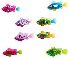 Bath Toys For Kids Swimming Robot Fish Toy for Kids with LED Light Mini Aquarium