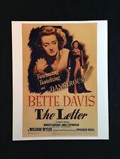 "Bette Davis ""The Letter"" Movie Photo Print"