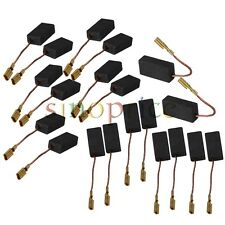 20pcs Electric Motor Carbon Brushes Drill Repair Replacement Part 15 x 8 x 5mm
