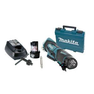 "Makita DA330DWE 10.8V 10mm 3/8"" Li-ion Cordless Angle Drill Set / 220V Charger"