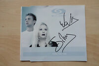 "Sylver Autogramme signed CD-Cover ""Turn The Tide"""
