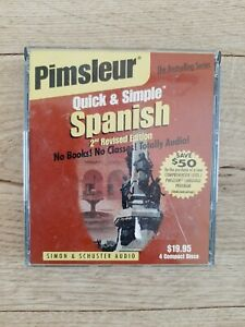 Pimsleur Spanish Quick & Simple Course - Level 1 Lessons 1-8 CD: Learn to Speak…