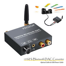 New Audio Converter Bluetooth DAC Digital Optical Coaxial Toslink to Analog RCA