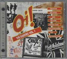 Oi! THE RARITIES VOL 1 - VARIOUS ARTISTS - (still sealed cd) - AHOY CD 43