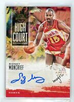 2019-20 Sidney Moncrief 98/179 Auto Panini Court Kings High Court Signatures