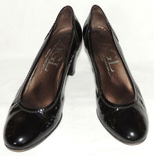WOMEN'S  AGL 'BLACK' PATENT LEATHER HEELS SIZE EUR 39 1/2 US 9