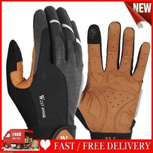 WEST BIKING Cycling Gloves Full Finger Touch Screen Anti Slip Bike Gloves