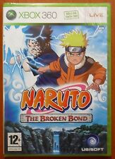 Pal version Microsoft Xbox 360 Naruto the Broken Bond