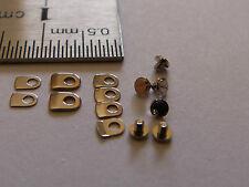 6 + 8 vis et brides d'emboitage pour ETA 2824 2836 2892 mounting screws clamps