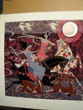 "Richard Zu Ming Ho ""Spring Ritual"" S/N Serigraph"
