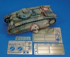 Royal Model 1/35 French Le Char B1 Bis Update Set (Photo-etch) (for Tamiya) 539