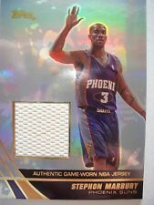 2004 TOPPS BASKETBALL GAME JERSEY STEPHON MARBURY  JE-SMA  SUNS BOX 54 !!!