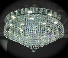 Crystal Chandelier with Dimmable Bright white LED Ceiling light Lamp It-PL-60LED