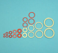 22 Assorted Fibre Washers Pack Big Plumbing Gasket Set Seal Water Oil Bath Basin