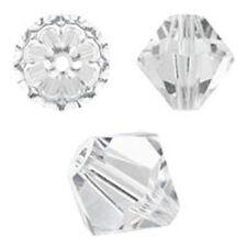 Swarovski Crystal Bicone Crystal. 6mm. Approx. 48 PCS. 5328