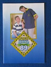 Tottenham Hotspur - Merchandise Catalogue - Spring 89