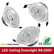 Modern LED Adjustable Tilt Angle Downlights Recessed Round Ceiling Spotlights