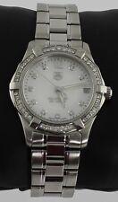Ladies Tag Heuer Aquarracer Pearl Diamond Swiss Quartz Watch WAF1313.BA0819