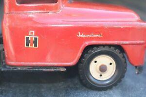 Tru-Scale International Harvester Steel Hauler Transport Truck Cab Pressed Steel