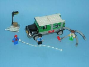 LEGO SUPER HEROES  76015 DOC OCK TRUCK HEIST  WITH INSTRUCTIONS AND BOX