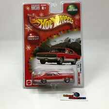'67 Dodge Charger * RED * Hot Wheels Holiday Rods * Q67