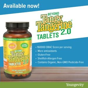 Youngevity Dr. Wallach Beyond Tangy Tangerine BTT 2.0 Tablets