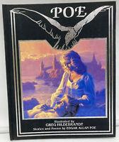 POE ~ Edgar Allan Poe Illustrated by Greg Hildebrandt Signed Heirloom Collection