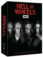 Hell on Wheels The Complete Series Seasons 1-5 Box Set DVD 17-Disc New Sealed